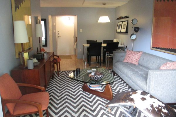 Furnished 1-bedroom - ID 63-17